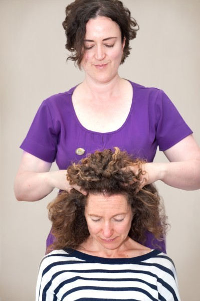Nature To Nurture massaging in action - Indian Head Massage….