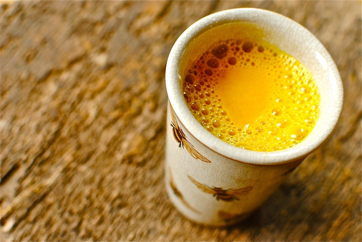 Golden Milk Common Cold Remedy